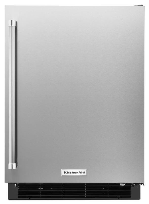 KitchenAid KURR104E 24 Inch Wide 4.9 Cu. Ft. Panel-Ready Undercounter Refrigerat photo