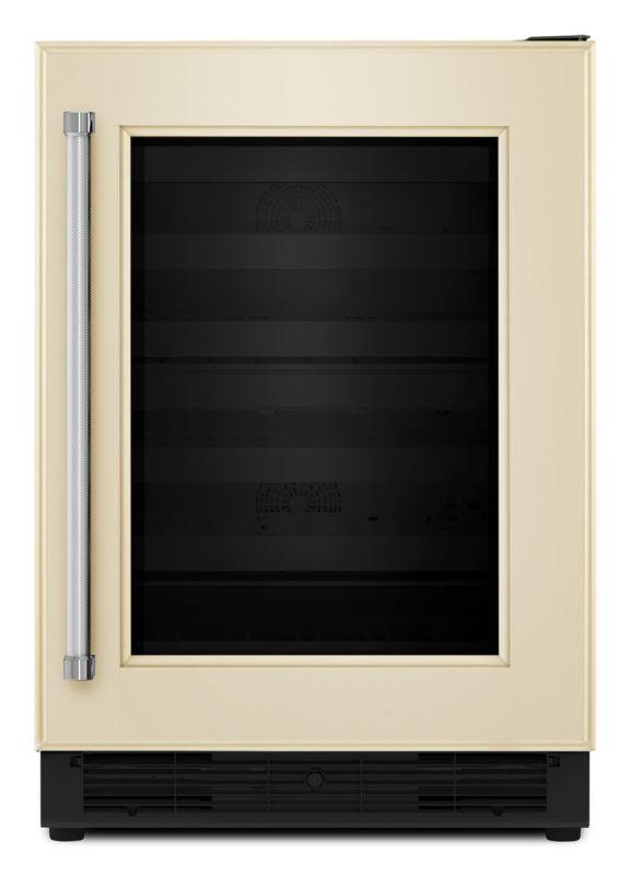 KitchenAid KUWR204E 24 Inch Wide 48 Bottle Capacity Wine Refrigerator with Wood photo