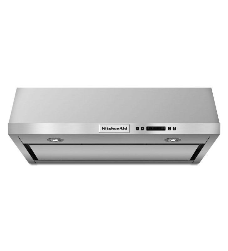 KitchenAid KVUB600D 600 CFM 30 Inch Wide Stainless Steel Under Cabinet Range Hoo photo