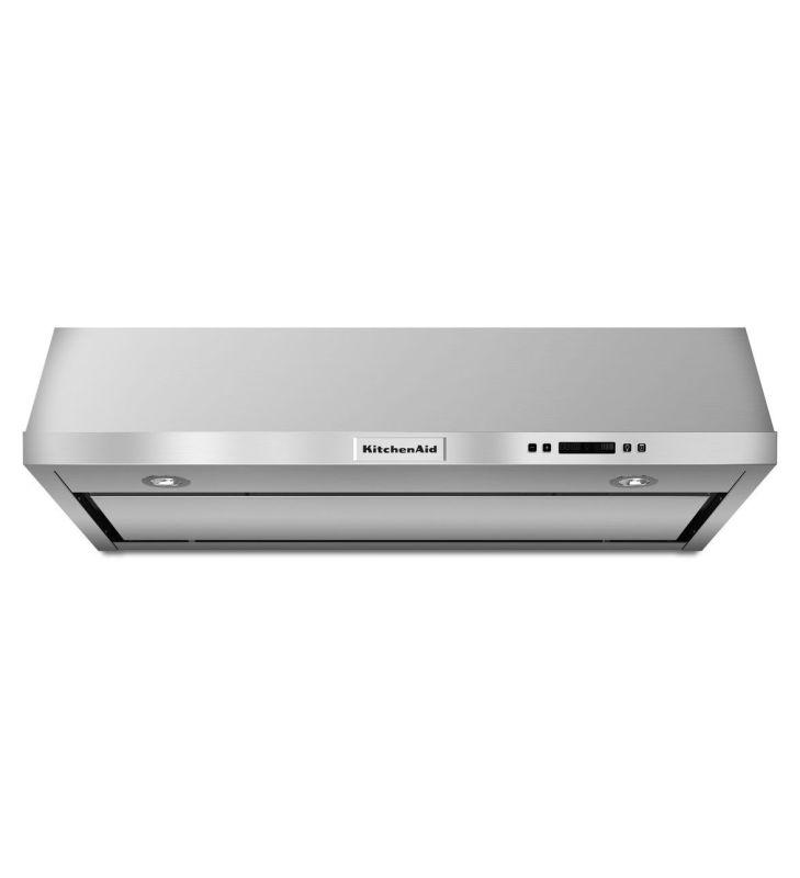 KitchenAid KVUB606D 600 CFM 36 Inch Wide Under Cabinet Range Hood with Built-In photo