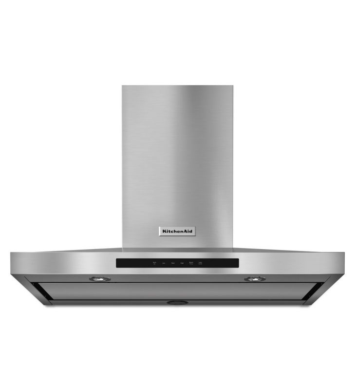 KitchenAid KVWB606D 600 CFM 36 Inch Wide Stainless Steel Wall-Mount Range Hood w photo