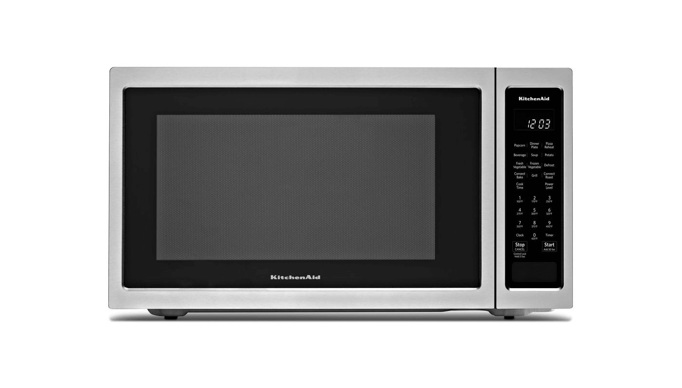 KitchenAid KMCC5015G 24 Inch Wide 1.5 Cu. Ft. 1000 Watt Countertop Microwave wit photo