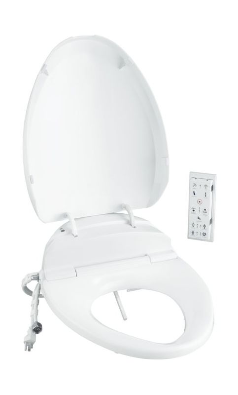 Kohler K-4709 C3 200 Elongated Toilet Seat with Bidet Functionality and Heat