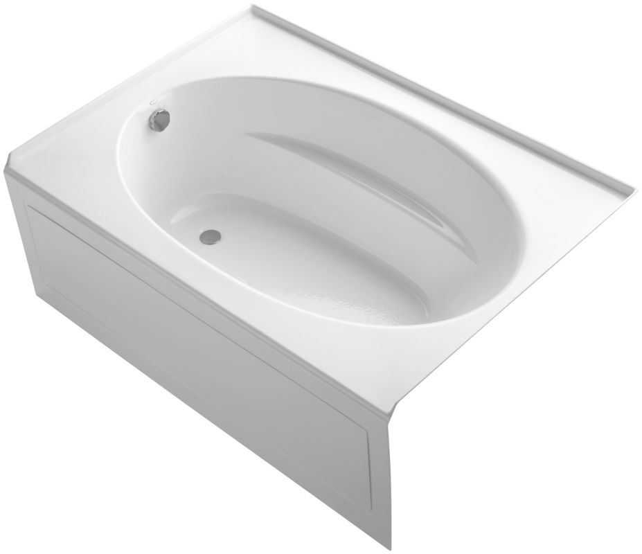 kohler k 1113 la windward collection 60 three wall alcove soaking bath