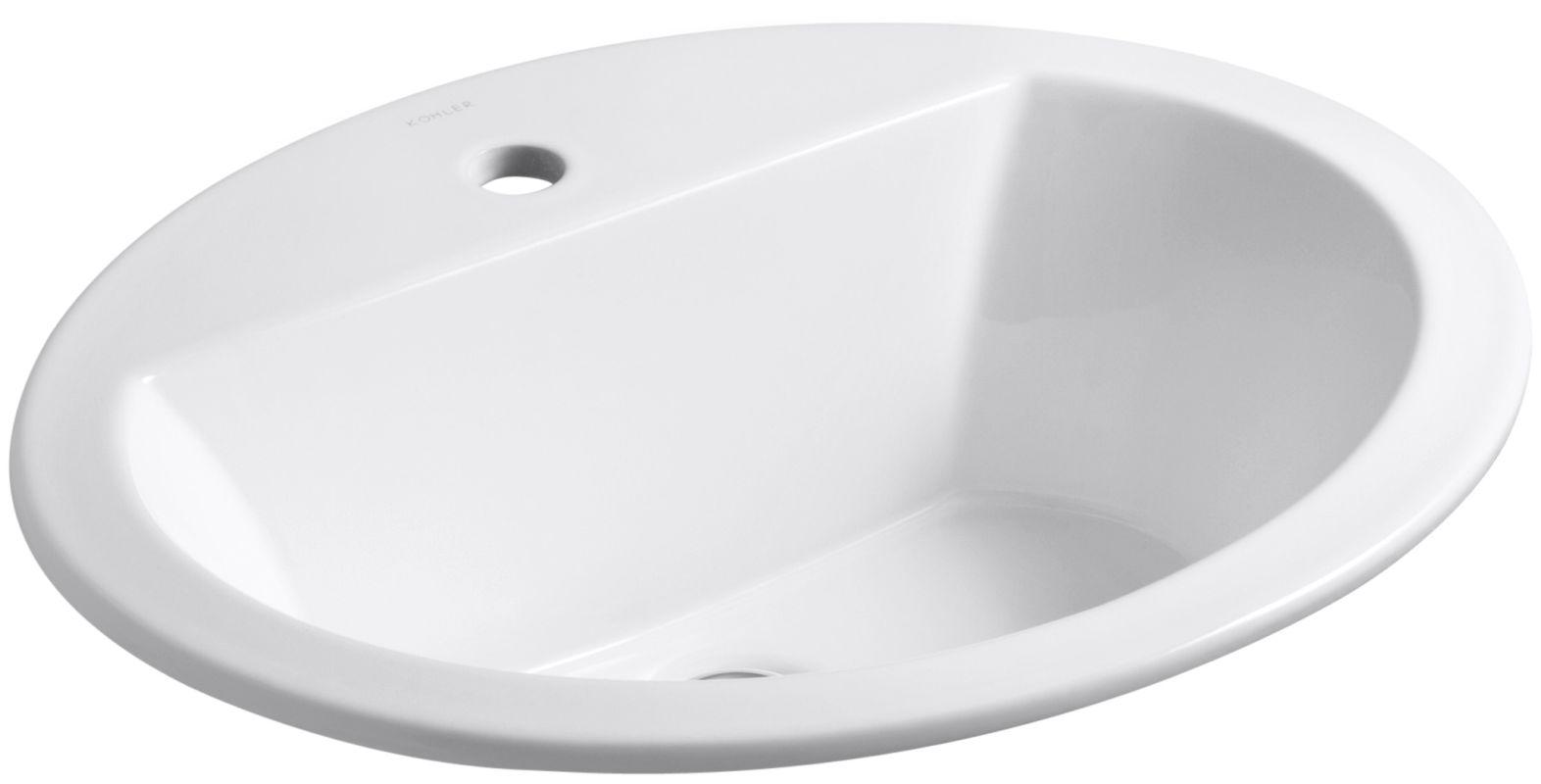 upc 885612000910 kohler k 2699 1 0 white bryant bryant 17 3 8 drop in bathroom sink. Black Bedroom Furniture Sets. Home Design Ideas