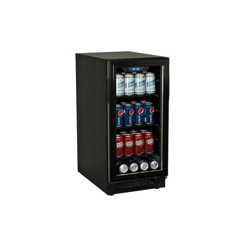 Koldfront BBR900 15 Inch Wide 80 Can Built-In Beverage Center with Slim Design photo