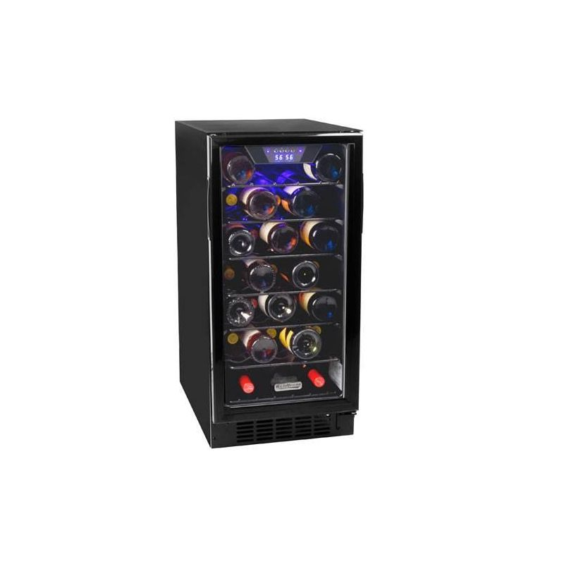 Koldfront BWR300 15 Inch Wide 30 Bottle Built-In Wine Cooler with Slim Design photo