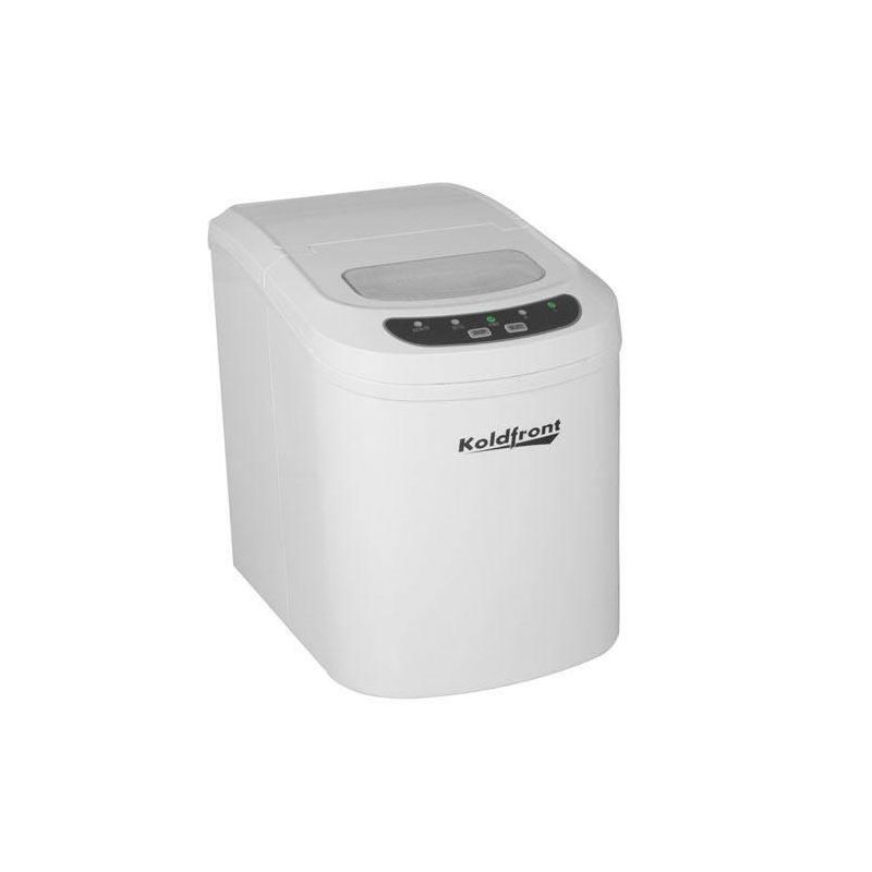 Koldfront KIM202 10 Inch Wide 1.5 Lbs. Capacity Portable Ice Maker with 26 Lbs. photo