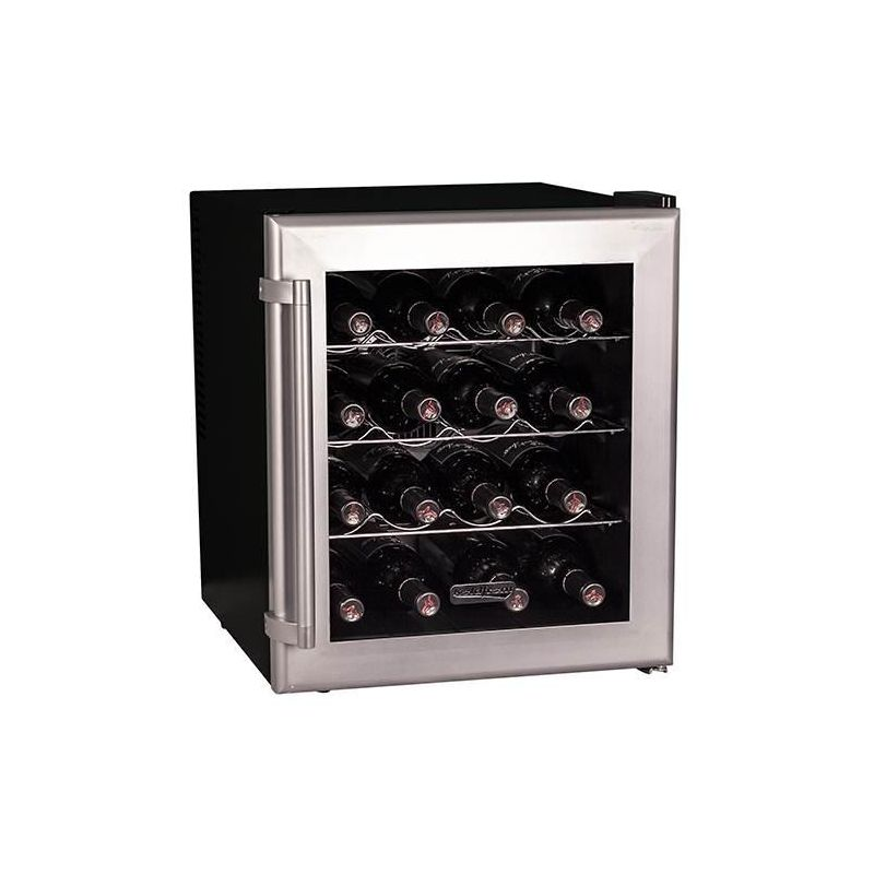 Koldfront TWR160 17 Inch Wide 16 Bottle Wine Cooler with Thermoelectric Cooling photo