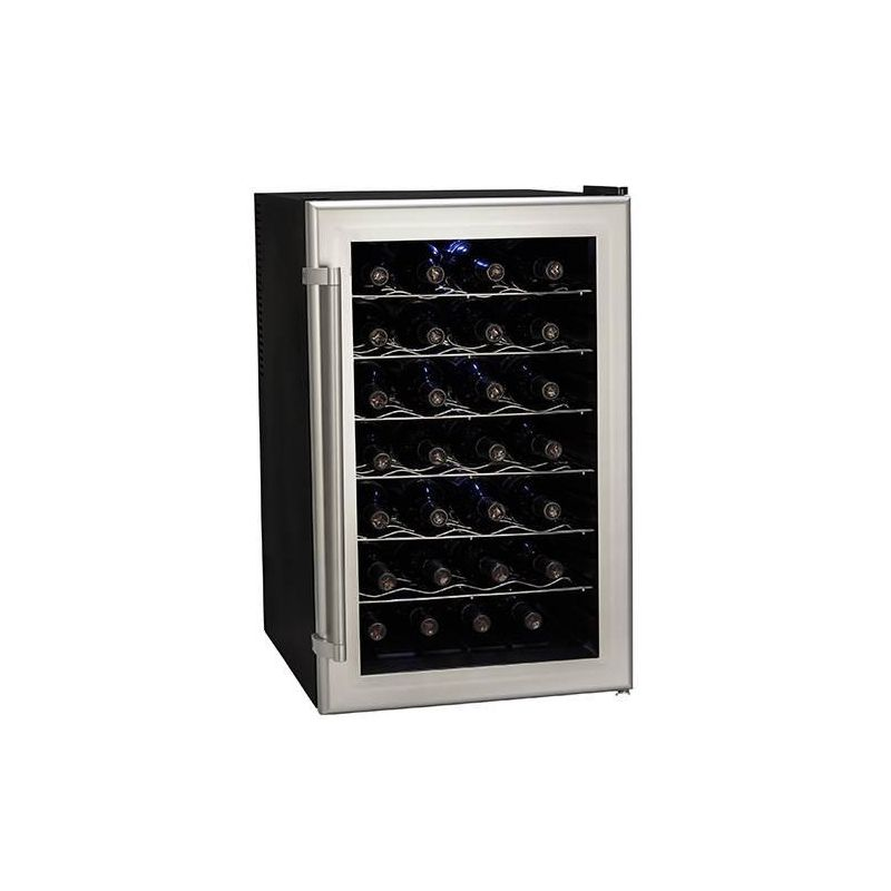 Koldfront TWR282 18 Inch Wide 28 Bottle Wine Cooler with Thermoelectric Cooling photo