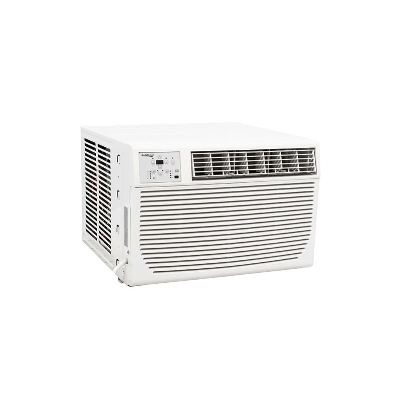 Koldfront WAC8001W 8000 BTU 115V Window Air Conditioner with 3500 BTU Heater and photo