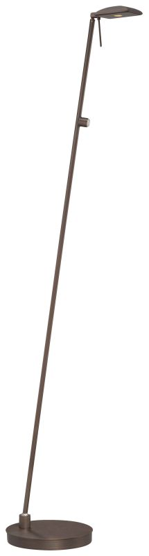 Kovacs P4324-647 1 Light LED Floor Lamp in Copper Bronze Patina from the George'