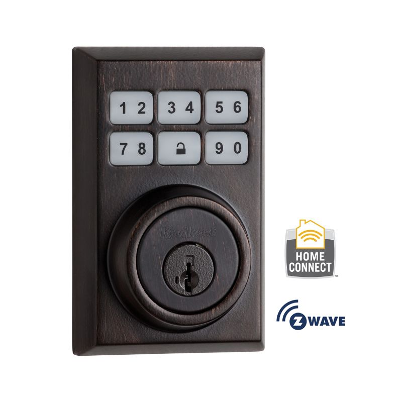 Kwikset 910CNT-ZW SmartCode Contemporary Electronic Deadbolt with Z-Wave Technol photo