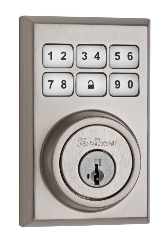 Kwikset 909CNT SmartCode Contemporary Electronic Deadbolt photo