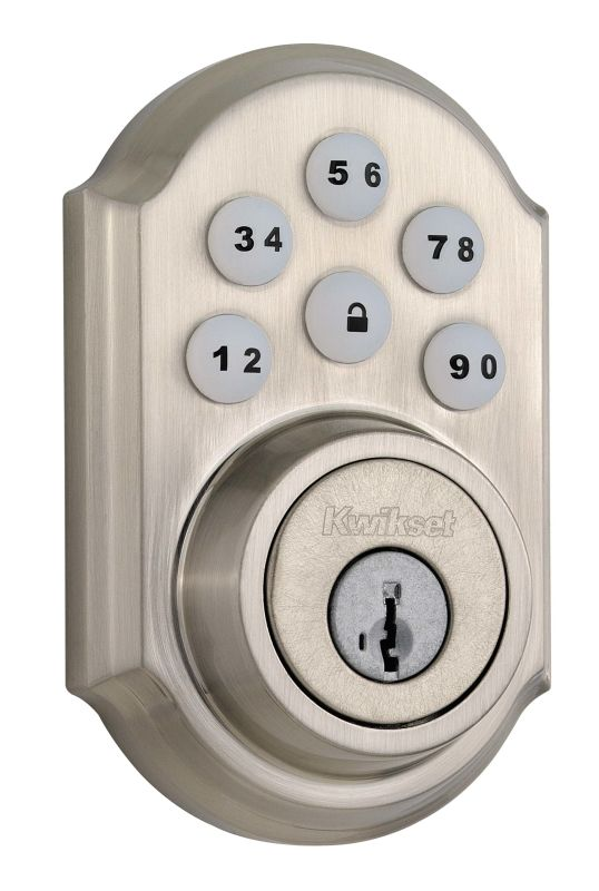 Kwikset 909 SmartCode Electronic Deadbolt photo