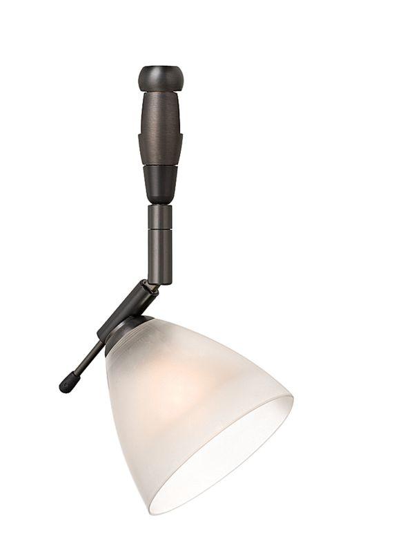 lbl lighting mini dome i swivel i frost led fusion jack 1 light track