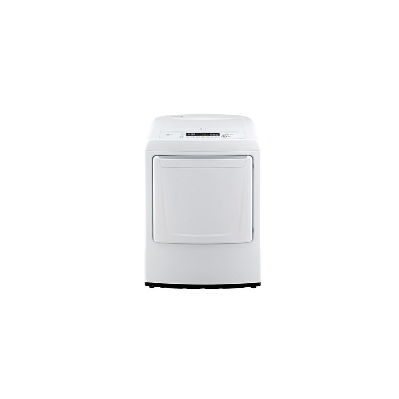 LG DLE1001W 7.3 Cu. Ft. Ultra Large Capacity Front Control Electric Dryer photo