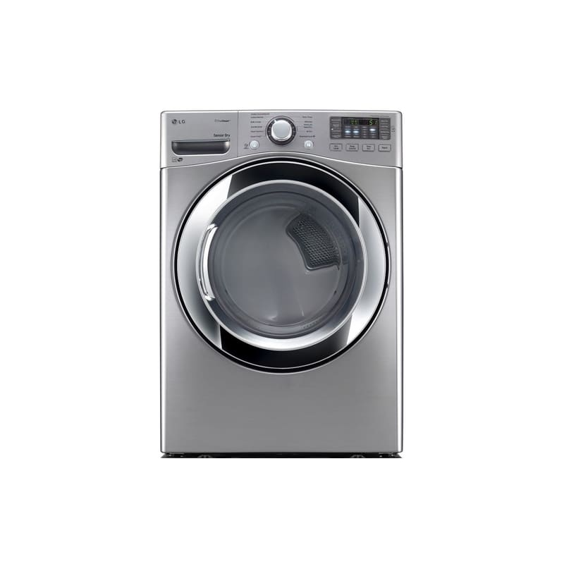 LG DLEX3370 27 Inch Wide 7.4 Cu. Ft. Energy Star Rated Electric Dryer with NFC T photo