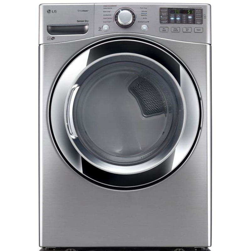 LG DLGX3371 27 Inch Wide 7.4 Cu. Ft. Gas Dryer with NFC Tag On photo