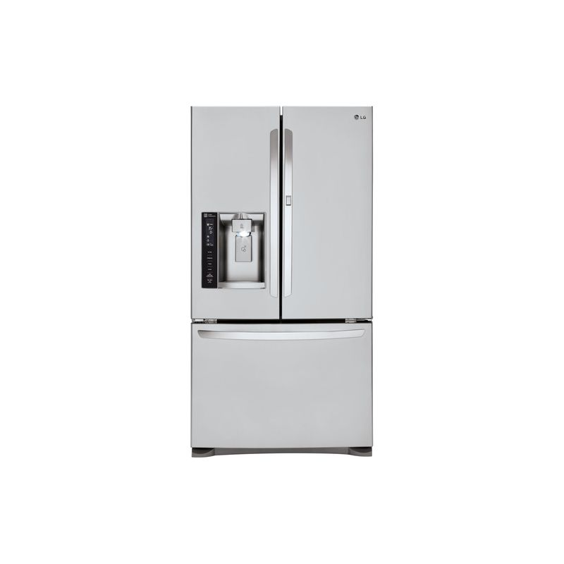 LG LFXS24566 36 Inch Wide 24 Cu. Ft. French Door Refrigerator with SpacePlus Ice photo