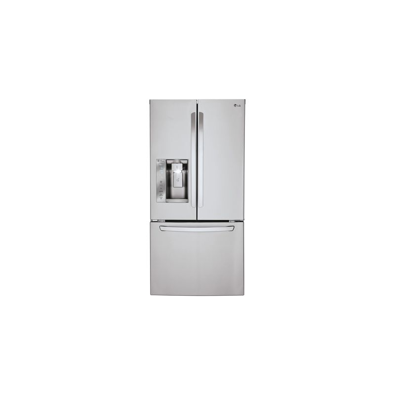 LG LFXS24623 33 Inch Wide 24.2 Cu. Ft. Energy Star French Door Refrigerator with photo