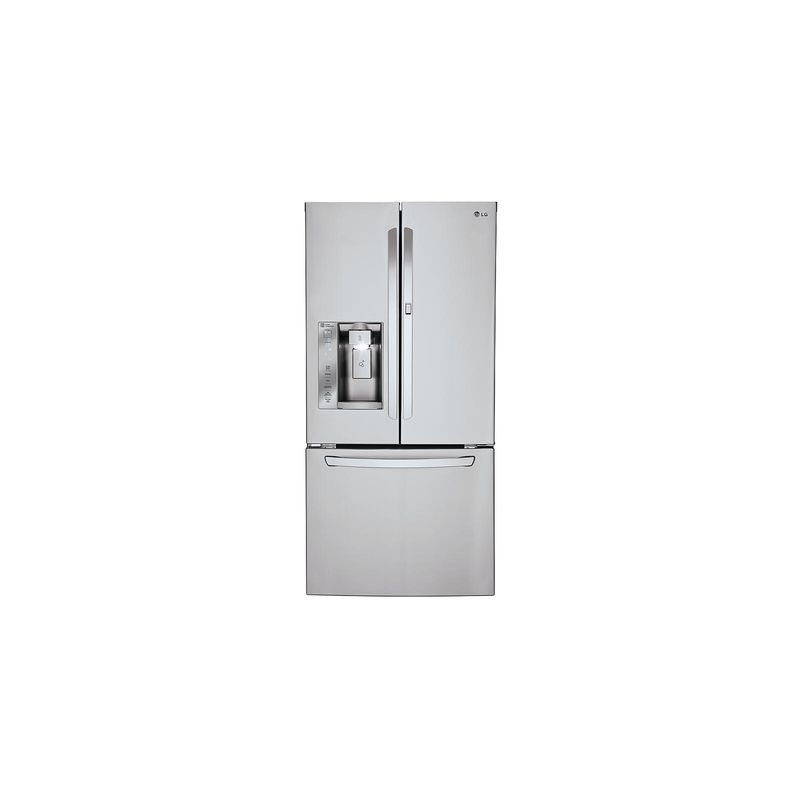 LG LFXS24663 33 Inch Wide 24.4 Cu. Ft. Energy Star Rated French Door Refrigerato photo