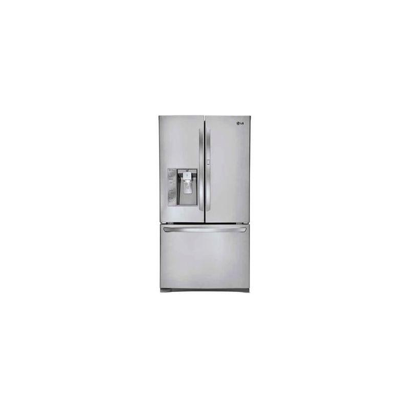 LG LFXS29766 29 Cubic Foot Ultra Capacity 3 Door French Door Refrigerator with D photo