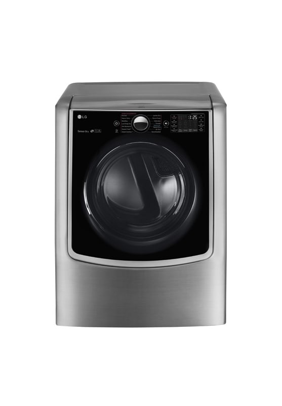 LG DLEX5000 27 Inch Wide 7.4 Cu. Ft. Energy Star Rated Electric Dryer with Smart photo