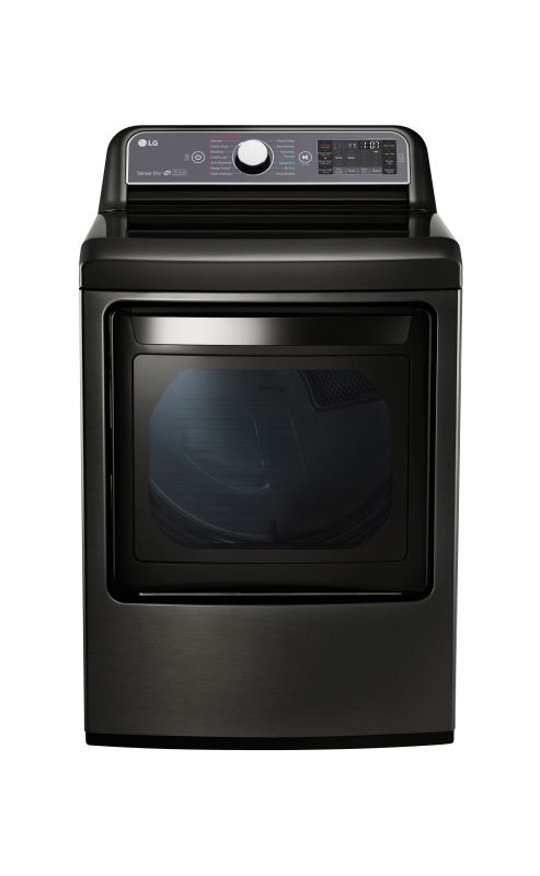 LG DLEX7600 27 Inch Wide 7.3 Cu. Ft. Energy Star Rated Electric Dryer with EasyL photo