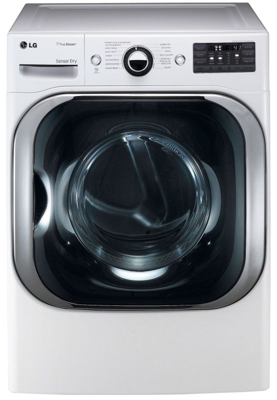 LG DLEX8000 9.0 Cu. Ft. Mega Capacity Electric Dryer with Steam Technology and S photo
