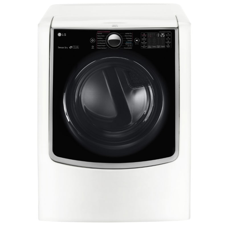 LG DLEX9000 29 Inch Wide 9.0 Cu. Ft. Energy Star Rated Electric Dryer with Smart photo