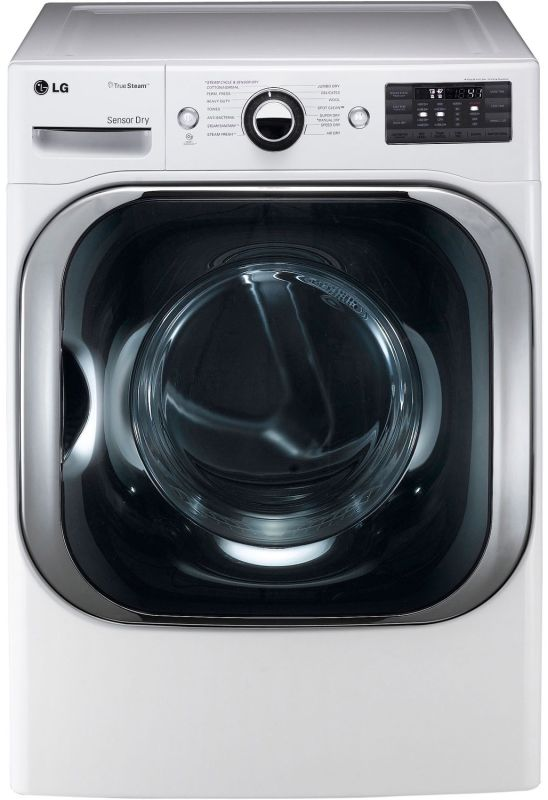 LG DLGX8001 9.0 Cu. Ft. Mega Capacity Gas Dryer with Steam Technology and Sensor photo