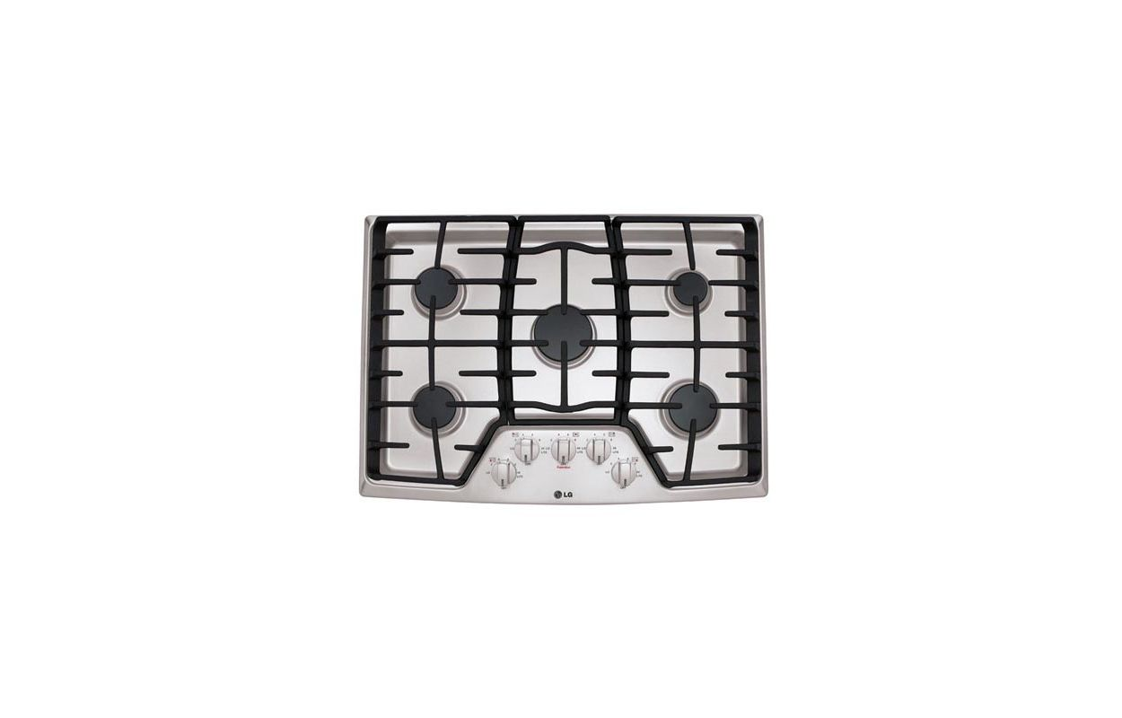 LG LCG3011 30 Inch Gas Cooktop with SuperBoil photo