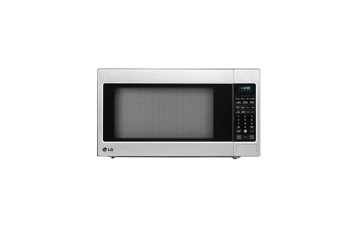 LG LCRT2010ST 2.0 Cu. Ft. Countertop Microwave Oven with TrueCookPlus ...