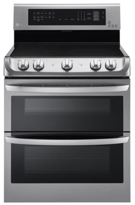 LG LDE4413 30 Inch Wide 7.3 Cu. Ft. Free Standing Electric Range with ProBake Co photo