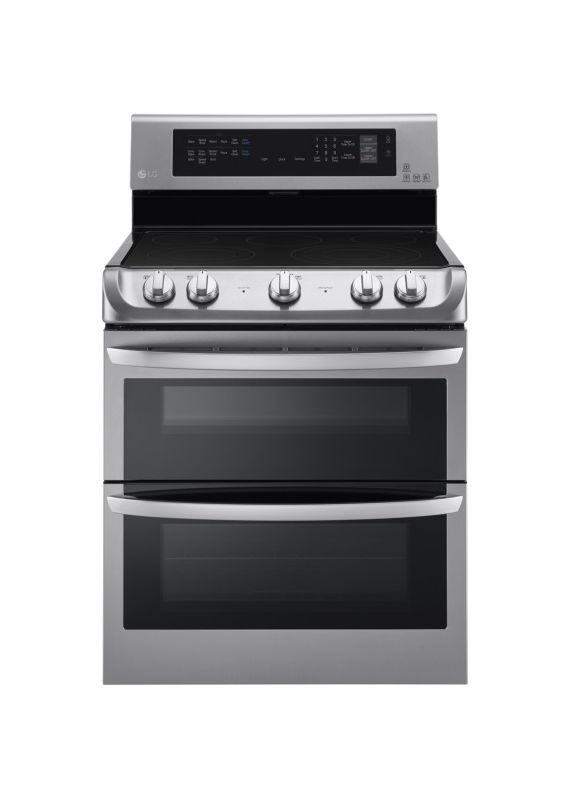 LG LDE4415 30 Inch Wide 7.3 Cu. Ft. Free Standing Electric Range with Infrared H photo