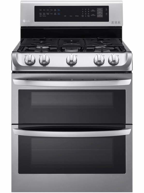 LG LDG4313 30 Inch Wide 6.9 Cu. Ft. Free Standing Gas Range with ProBake Convect photo