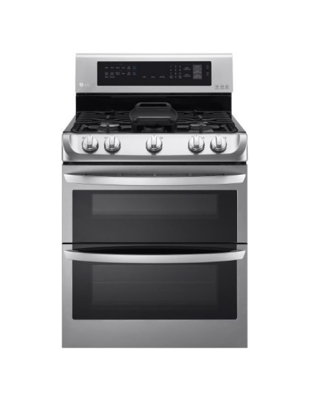 LG LDG4315 30 Inch Wide 6.9 Cu. Ft. Free Standing Double Gas Range with ProBake photo