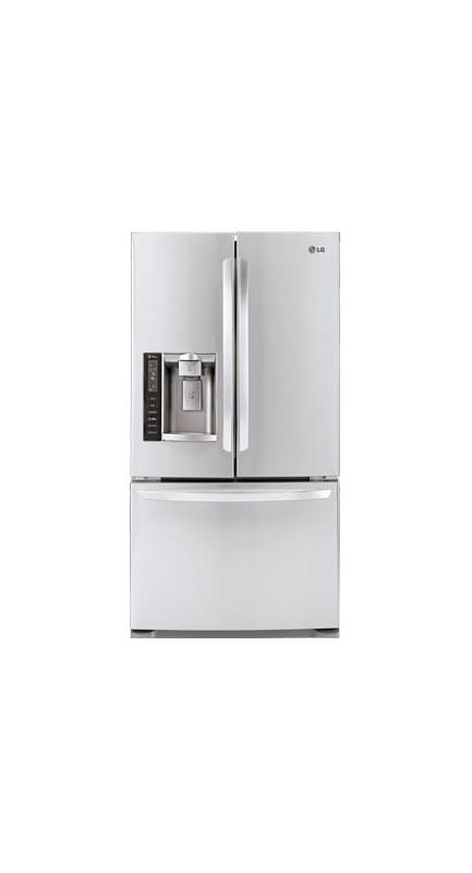 LG LFX21976ST 20 Cubic Foot Large Capacity 3 Door French Door Refrigerator with photo