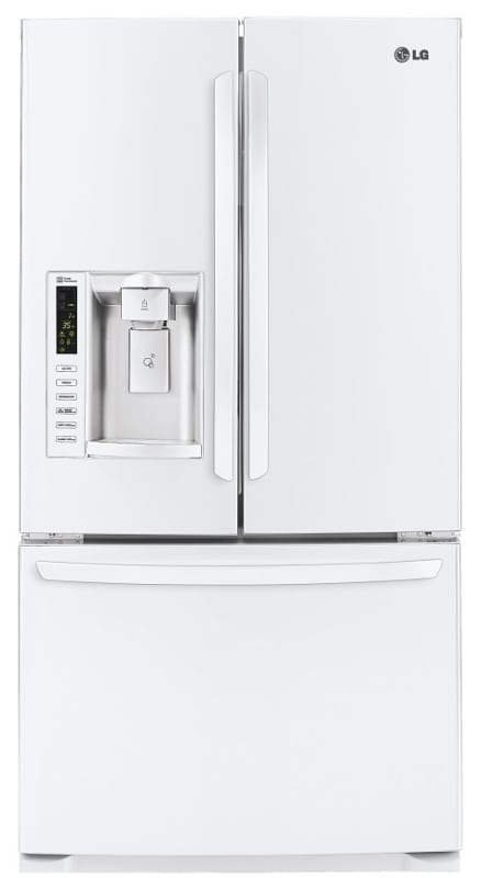 LG LFX25974S 36 Inch Wide 24.7 Cu. Ft. Energy Star French Door Refrigerator with photo