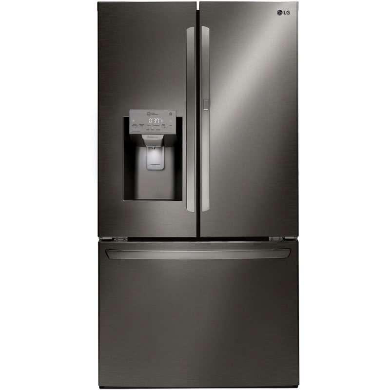 LG LFXS28566 36 Inch Wide 27.7 Cu. Ft. Energy Star Rated French Door Refrigerato photo