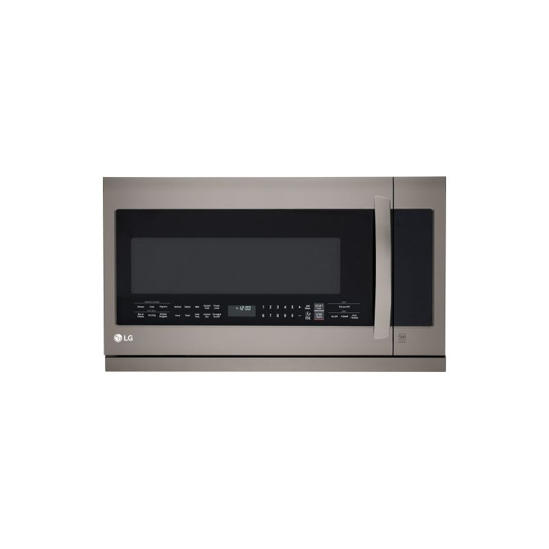 LG LMHM2237B 30 Inch Wide 2.2 Cu. Ft. Over the Range Microwave Oven with EasyCle photo