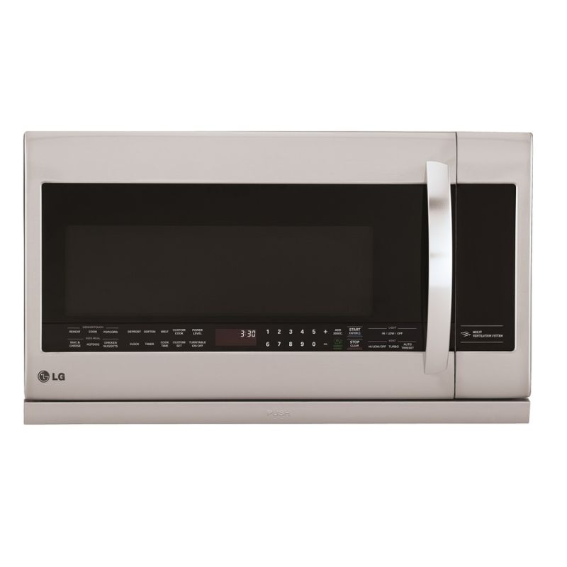 LG LMHM2237S 2.2 Cu. Ft. 400 CFM Over-the-Range Microwave with ExtendaVent 2.0 photo