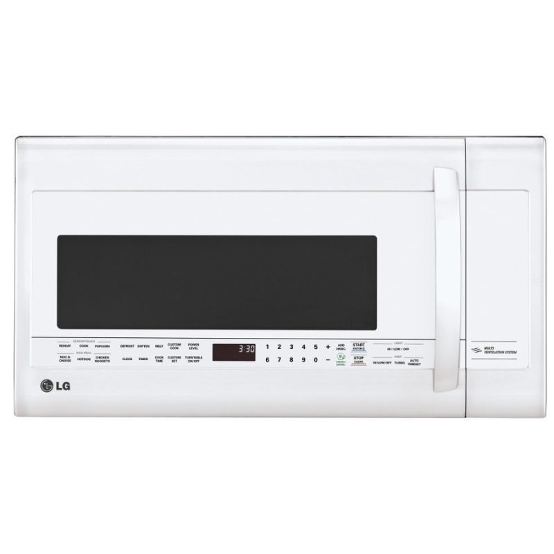 LG LMVM2033S 2.0 Cu. Ft. 400 CFM Over-the-Range Microwave with EasyClean Interio photo
