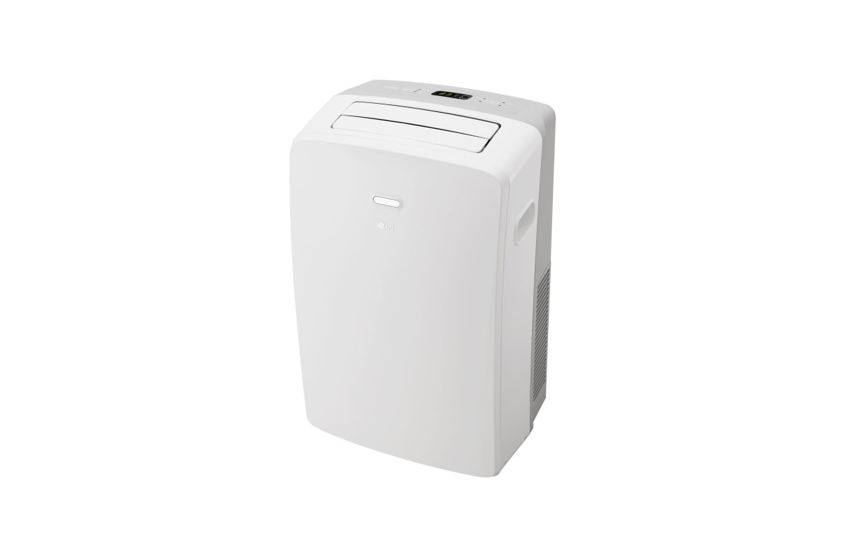 LG LP1017WSR 10,000 BTU Portable Air Conditioner with Remote and Dehumidifier photo