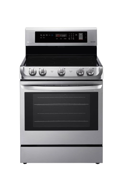 LG LRE4211 30 Inch Wide 6.3 Cu. Ft. Free Standing Electric Range with ProBake Co photo