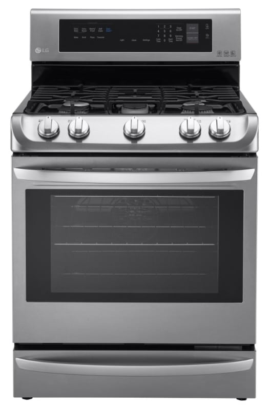 LG LRG4113 30 Inch Wide 6.3 Cu. Ft. Free Standing Gas Range with ProBake Convect photo