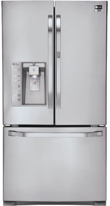 LG LSFD2491 36 Inch Wide 24 Cu. Ft. Energy Star Rated French Door Refrigerator w photo
