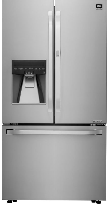 LG LSFXC2476 36 Inch Wide 24 Cu. Ft. Energy Star Rated French Door Refrigerator photo