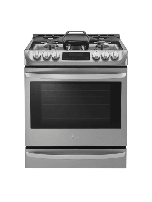 LG LSG4513 30 Inch Wide 6.3 Cu. Ft. Slide-In Gas Range with ProBake Convection a photo